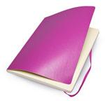 Записная книжка Moleskine Soft Cover (210x130 мм, розовая, нелинованная, 192 страницы)