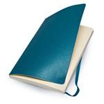 Записная книжка Moleskine Soft Cover (210x130 мм, бирюзовая, нелинованная, 192 страницы)