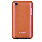 Чехол X-doria Shining Case для Apple iPod touch (4-th gen) (оранжевый)