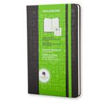 Записная книжка Moleskine Evernote Sketchbook (210x130 мм, черная, точка, 160 страниц)
