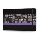 Записная книжка Moleskine Black Page Album (210x130 мм, черная, 32 страницы)