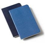 Записная книжка Moleskine Volant (210x130 мм, синяя, нелинованная, набор 2 шт. по 96 страниц)