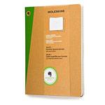 Записная книжка Moleskine Evernote Journals (210x130 мм, бежевая, клетка, набор 2 шт по 80 страниц)