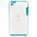 Чехол X-doria Scene Case для Apple iPod touch (4-th gen) (зеленый/прозрачный)