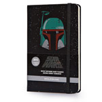 Записная книжка Moleskine Star Wars (90x140 мм, черная, модель 323319, линейка, 144 страницы)