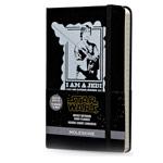 Записная книжка Moleskine Star Wars (90x140 мм, черная, модель 323333, линейка, 144 страницы)