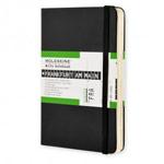 Записная книжка Moleskine City Notebook (90x140 мм, черная, Франкфурт)