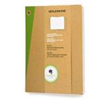 Записная книжка Moleskine Evernote Journals (250x190 мм, бежевая, линейка, набор 2 шт по 120 страниц)
