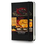 Записная книжка Moleskine The Hobbit (90x140 мм, черная, модель 320783, нелинованная, 192 страницы)