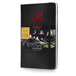 Записная книжка Moleskine The Hobbit (90x140 мм, черная, модель 320776, линейка, 192 страницы)