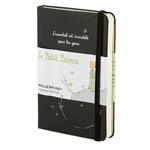 Записная книжка Moleskine Le Petit Prince (90x140 мм, черная, модель 937634, линейка, 192 страницы)