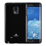 Чехол Mercury Goospery Jelly Case для Samsung Galaxy Note 4 edge N915 (черный, гелевый)