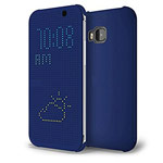 Чехол Yotrix DotCase для HTC One M9 (синий, пластиковый)