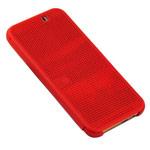 Чехол Yotrix DotCase для HTC One M9 (красный, пластиковый)
