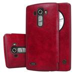 Чехол Nillkin Qin leather case для LG G4 F500 (красный, кожаный)
