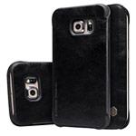 Чехол Nillkin Qin leather case для Samsung Galaxy S6 edge SM-G925 (черный, кожаный)