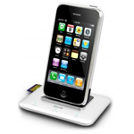 Dock-станция Dexim Premium Mhub для Apple iPhone 4/4S/3GS (алюминиевая)