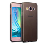 Чехол Yotrix UltrathinCase для Samsung Galaxy A3 SM-A300 (серый, гелевый)