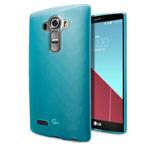 Чехол Yotrix UltrathinCase для LG G4 F500 (голубой, гелевый)