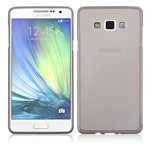Чехол Yotrix UltrathinCase для Samsung Galaxy A7 SM-A700 (серый, гелевый)
