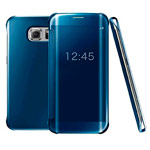 Чехол Yotrix FlipWallet case для Samsung Galaxy S6 edge plus SM-G928 (синий, пластиковый)