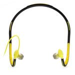 Наушники Remax Sports Headset S15 (зеленые, пульт/микрофон, 20-20000 Гц)