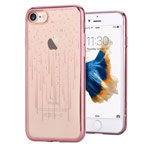 Чехол Devia Crystal Meteor для Apple iPhone 7 (Rose Gold, гелевый)