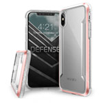 Чехол X-doria Defense Shield для Apple iPhone XS max (розовый, маталлический)