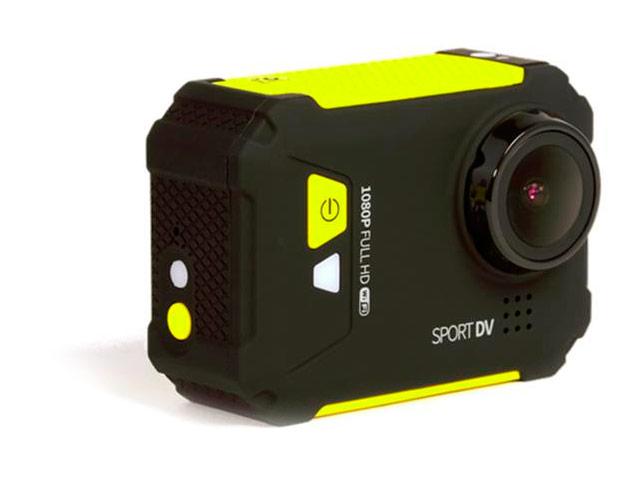 Экшн-камера Remax HD TV Sports Action Camera (черная/желтая)