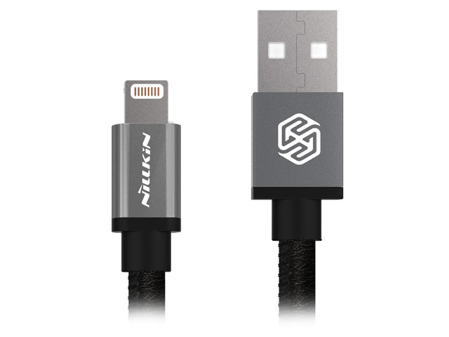 USB-кабель Nillkin Gentry Cable (черный, 1 м, Lightning, MFi)