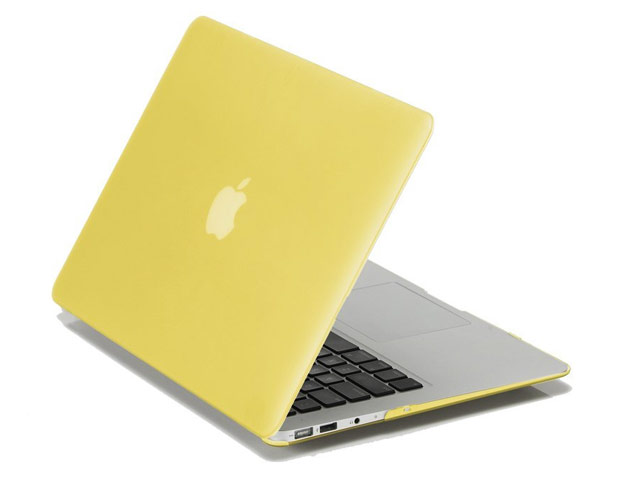 """Чехол Yotrix HardCover для Apple MacBook Air 13"""" (желтый, пластиковый)"""