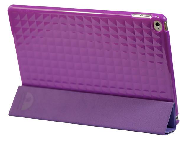 Чехол X-doria SmartJacket для Apple iPad Air 2 (фиолетовый, полиуретановый)