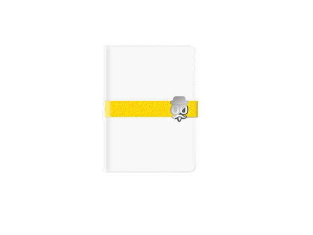 Чехол Seedoo Mag-Sign case для Apple iPad mini 3 (белый, кожаный)