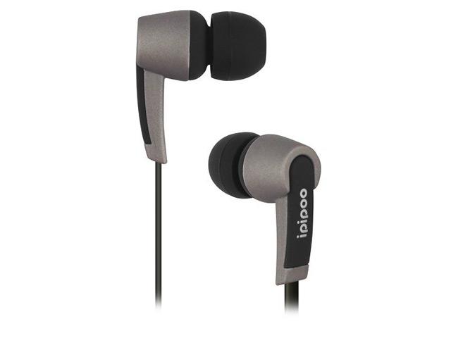 Наушники ipipoo best sound P10 (черный, пульт/микрофон, 20-20000 Гц, 9 мм)