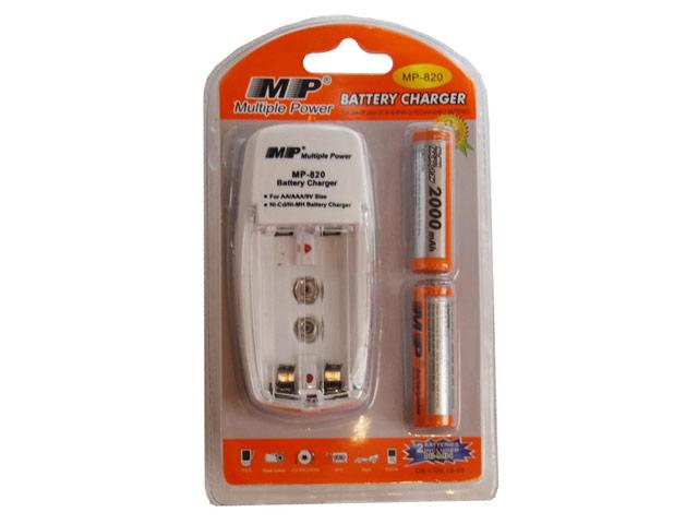 Зарядное устройство MP 820 AA 2000*2